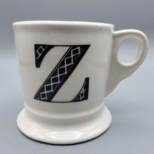 Anthropologie Monogram Initial Z Mug